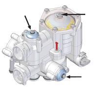 Мини-кабинетная автономная установка умягчения Delta для очистки воды