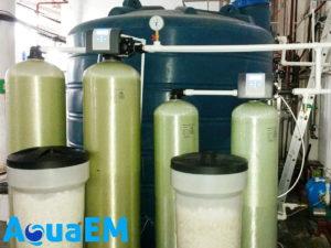 Установка умягчения непрерывного дейст. г. Махачкала умягч. воды для паровой котельной конфетной фабрики