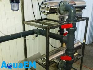 Установка водоподготовки фильтр – аэрация - обезжелезивание – умягчение воды – тонкая механическая очистка - УФ обеззараживание Белореченский пивзавод