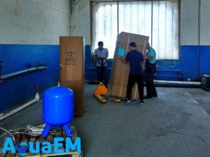 Монтаж установки непрерывного умягчения завод Химик г. Лабинск