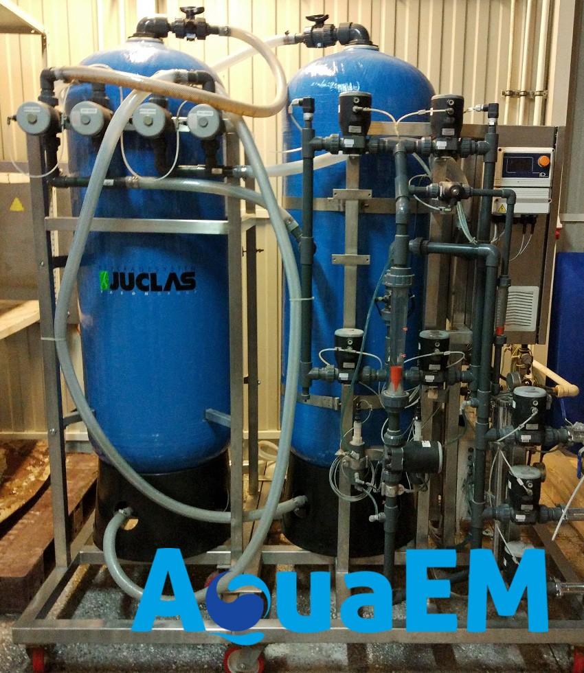 Система контроля качества подготовки воды