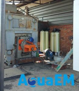 Установка водоподготовки для котельной
