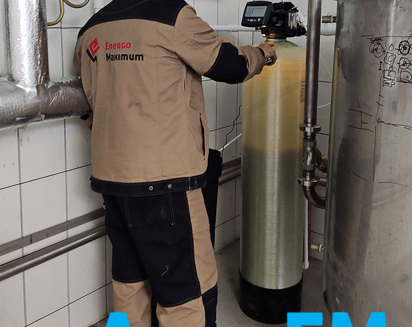 Установка водоподготовки на пищевом предприятии в Краснодарском крае